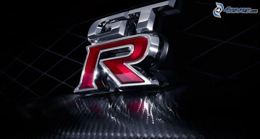Nissan GTR, logo