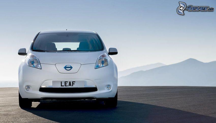 Nissan Leaf, montagna