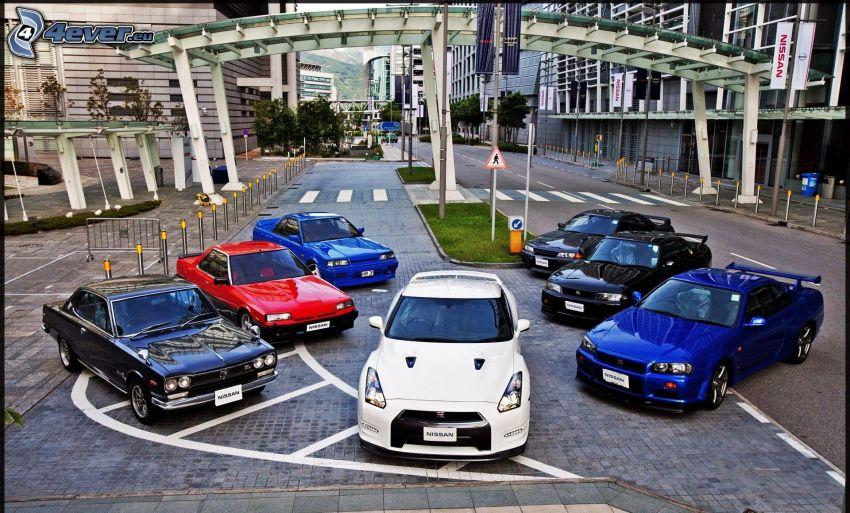 Nissan Skyline, evoluzione