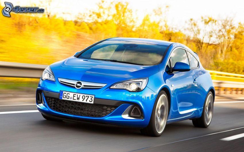 Opel Astra, velocità