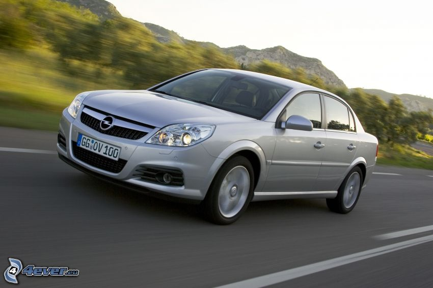 Opel Vectra, velocità