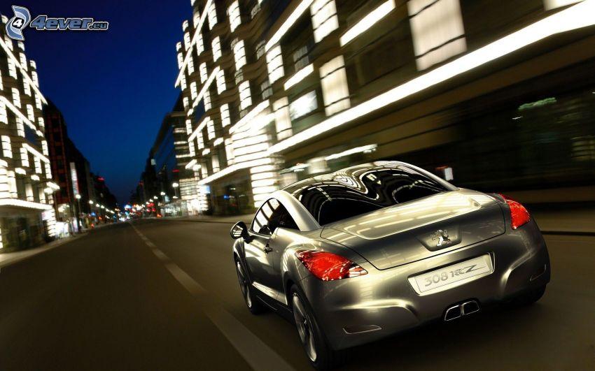 Peugeot 308RCZ, velocità