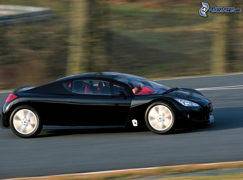Peugeot RC, velocità