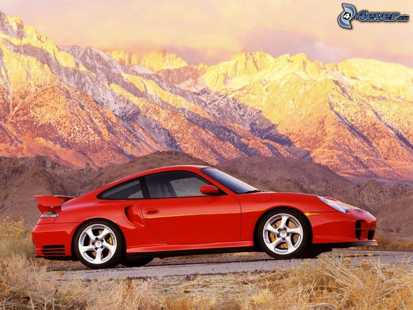 Porsche 911, montagne