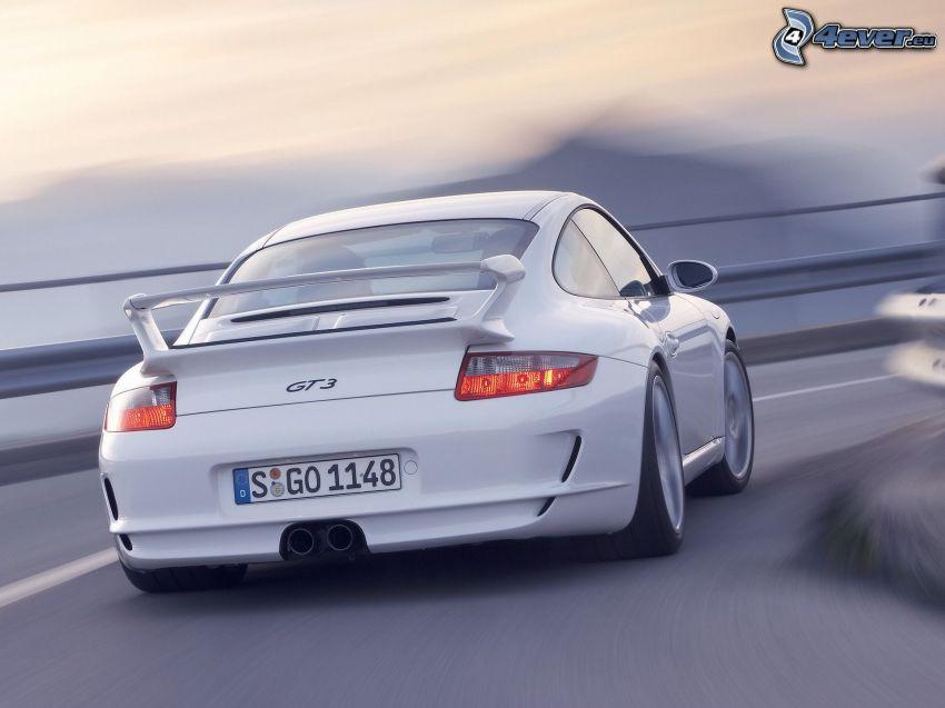 Porsche 911 GT3, curva, velocità