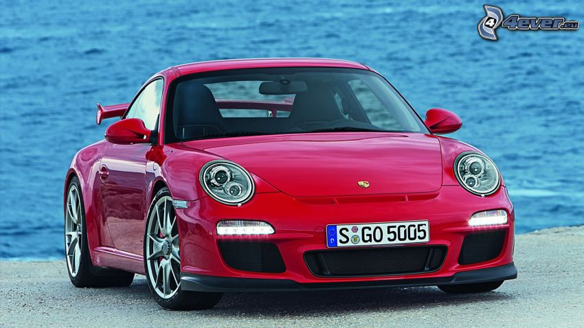 Porsche 911 GT3 RS, mare