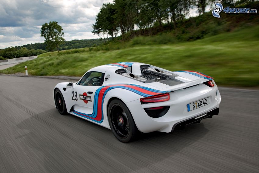 Porsche 918 Spyder, auto sportive, velocità