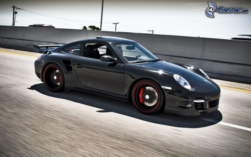 Porsche 996 turbo, velocità