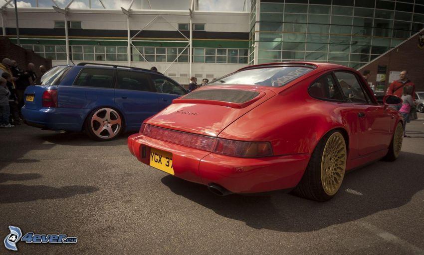 Porsche Carrera, veicolo d'epoca