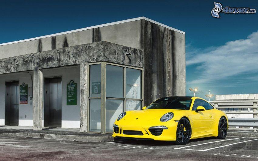 Porsche GT3R, costruzione