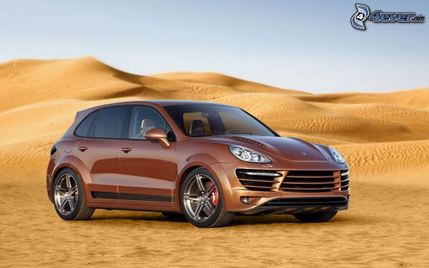 Porsche Panamera, deserto