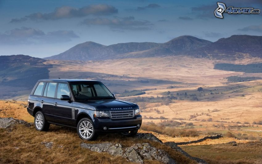 Range Rover, montagna