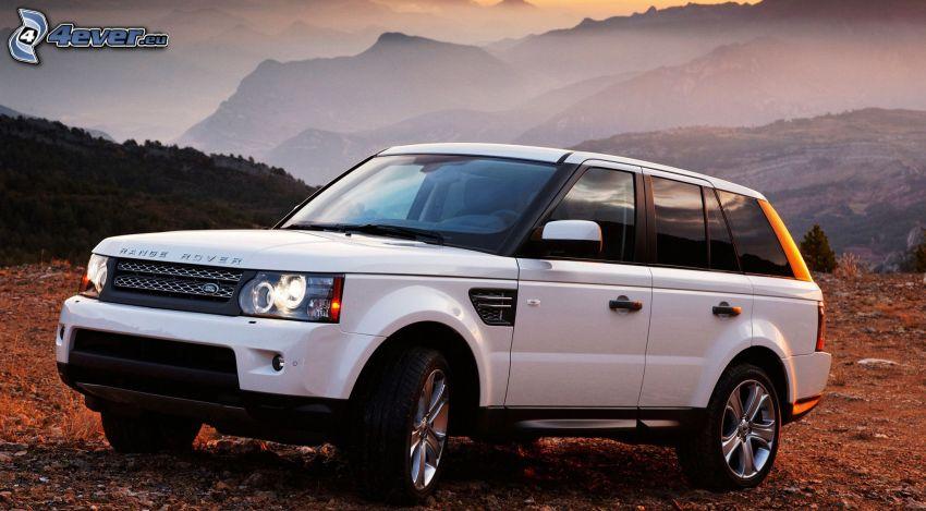Range Rover, montagne