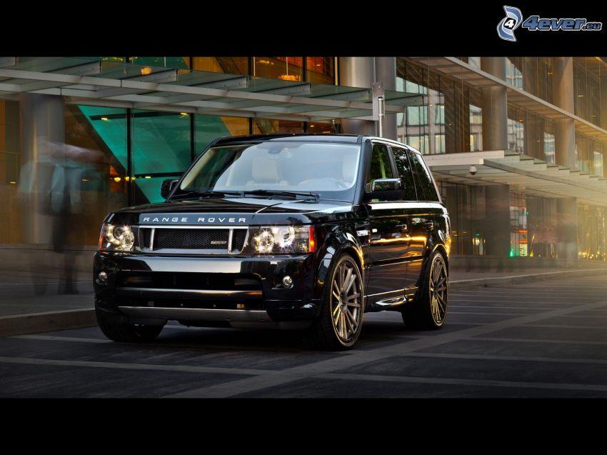Range Rover, strada