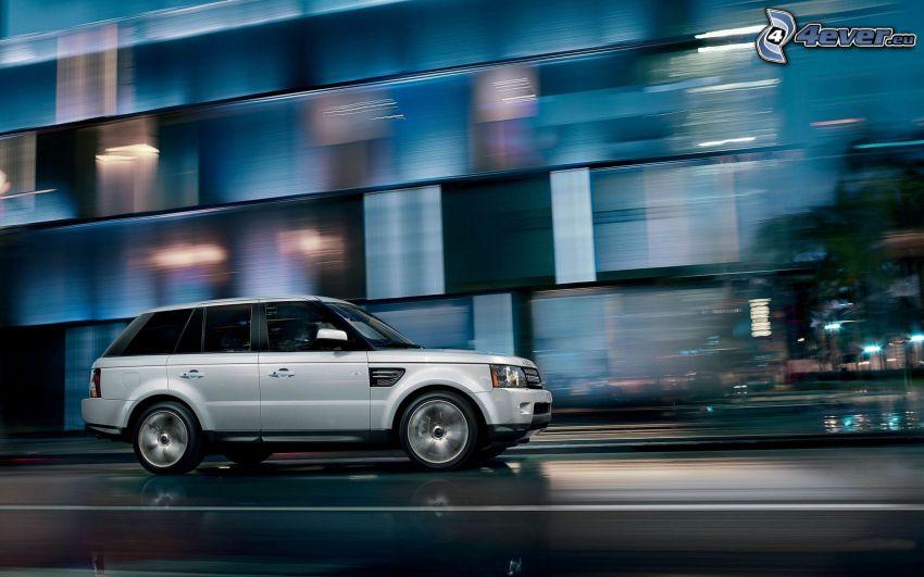Range Rover, velocità