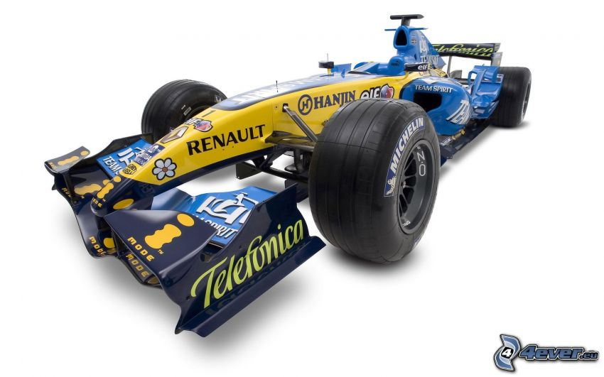 Renault F1, formula