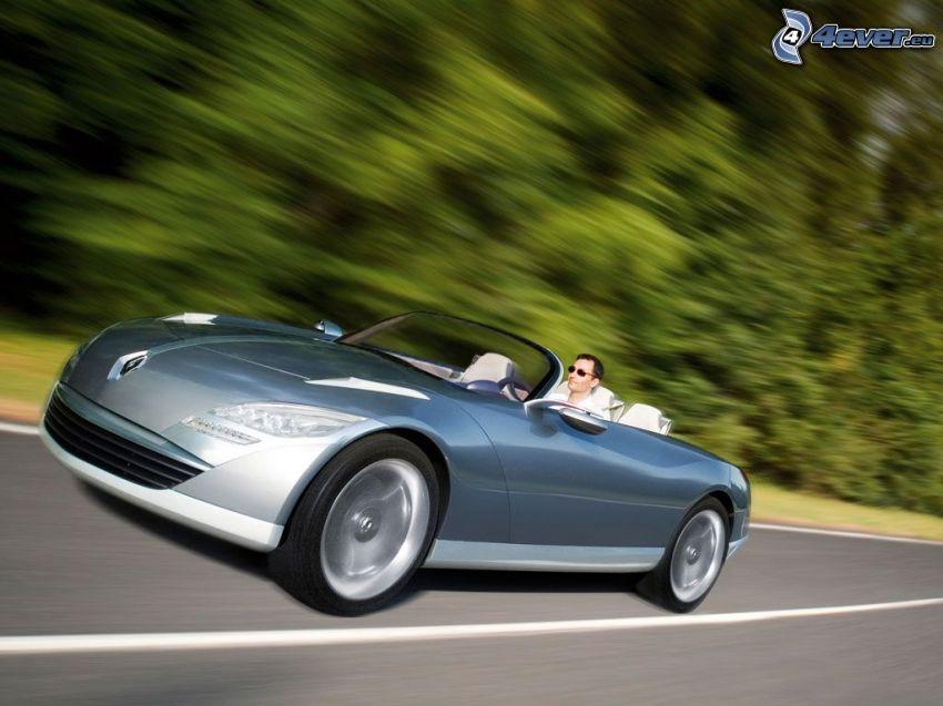 Renault Nepta, cabriolet, velocità