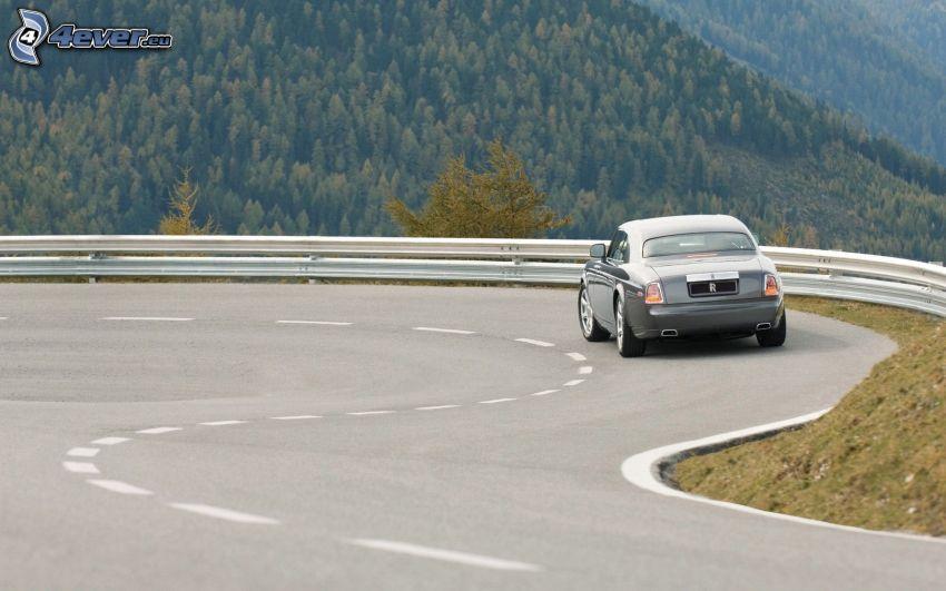Rolls Royce, curva