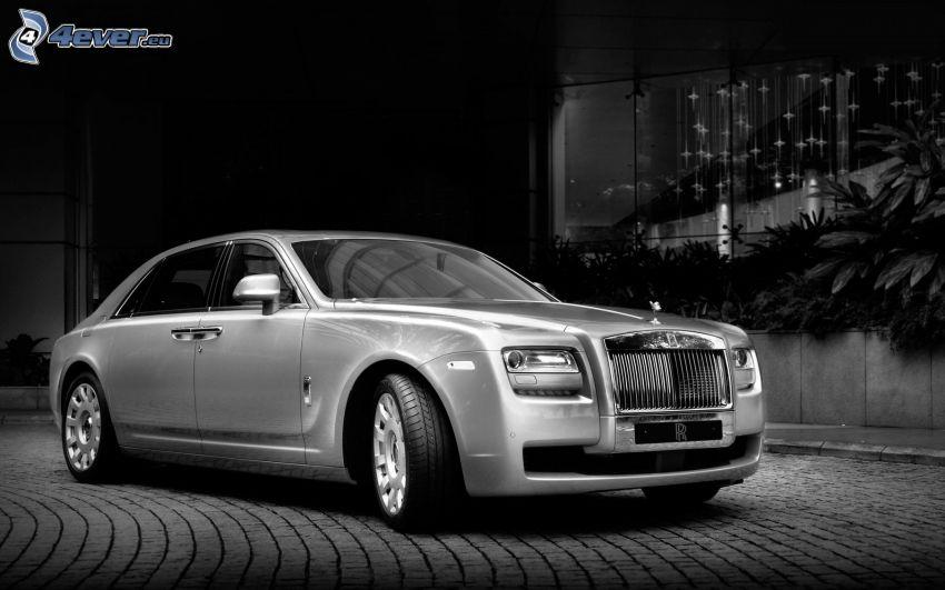 Rolls Royce Ghost, bianco e nero