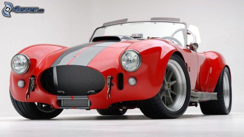 Shelby Cobra, cabriolet, veicolo d'epoca