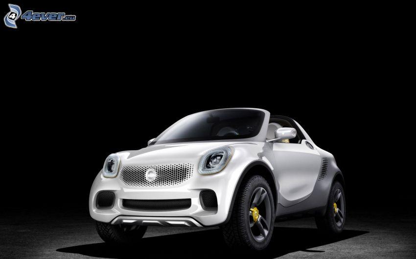 smart, auto elettrica, concetto