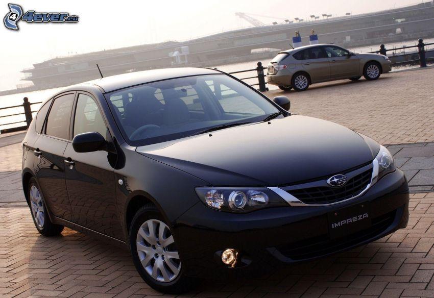 Subaru Impreza, piastrelle