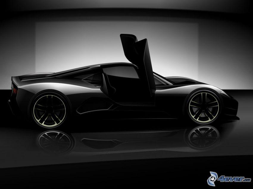 Ultima GTR, concetto
