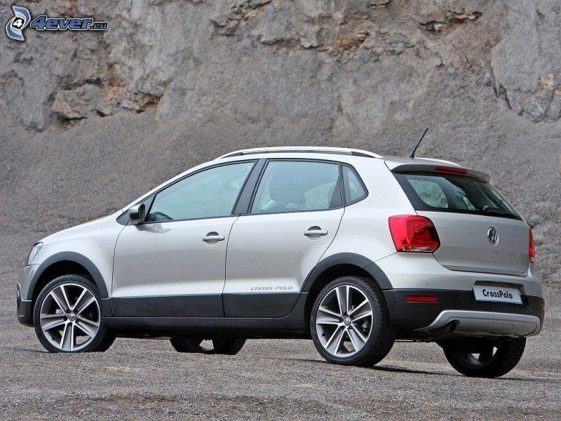 Volkswagen Cross Polo, roccia