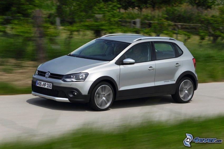 Volkswagen Cross Polo, velocità