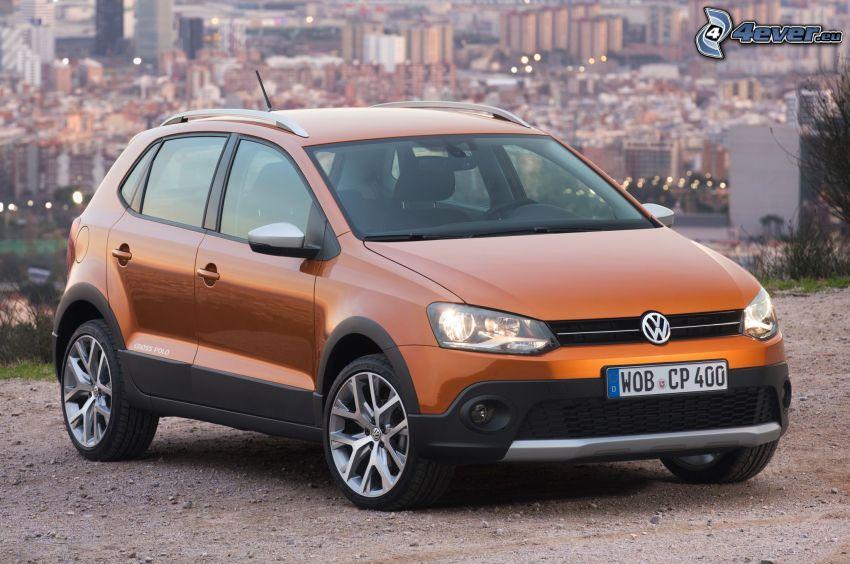 Volkswagen Cross Polo, vista della città