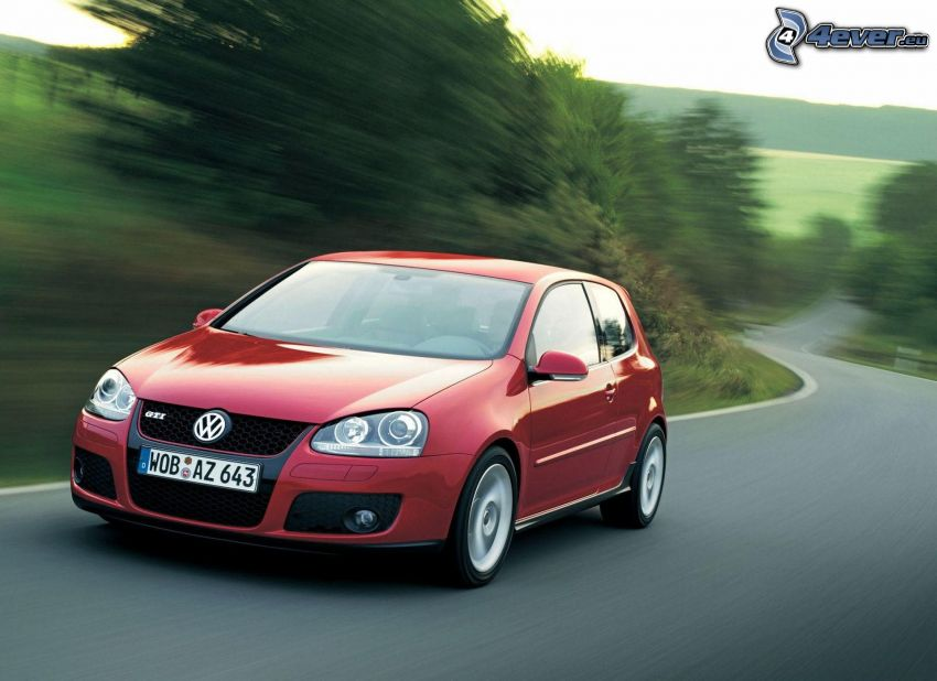 Volkswagen Golf, velocità