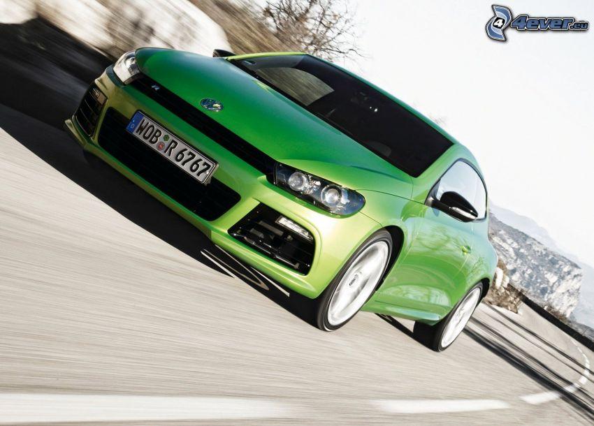 Volkswagen Scirocco, velocità