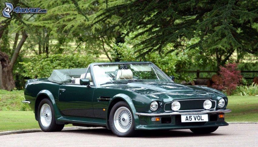 Aston Martin V8 Vantage, cabriolet, veicolo d'epoca