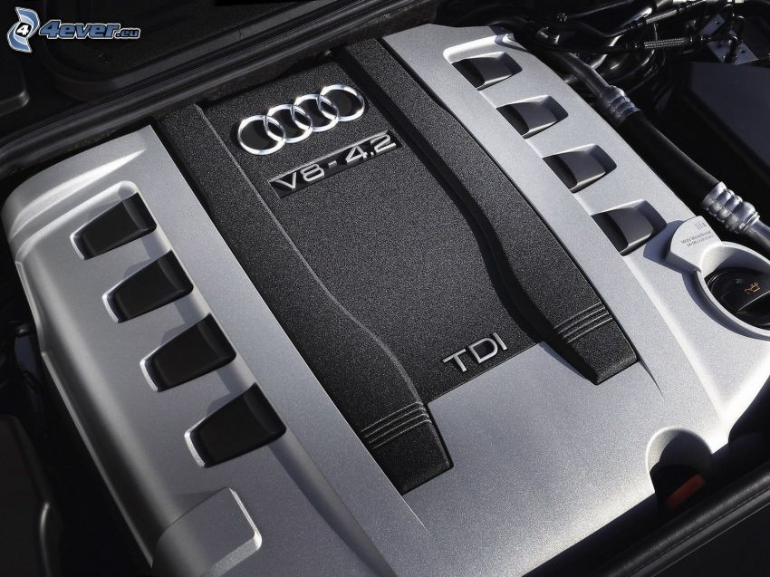 Audi A8, V8 4.2, motore