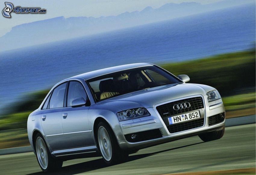 Audi A8, velocità