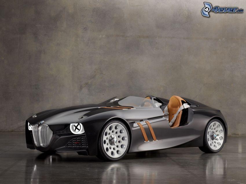 BMW, concetto, cabriolet, auto sportive