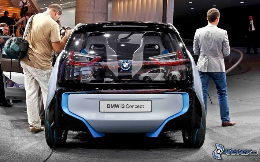 BMW i3 Concept, mostra, gente