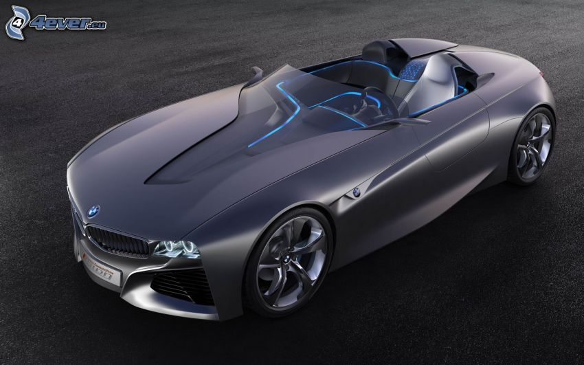 BMW Vision Efficient Dynamics, cabriolet, concetto