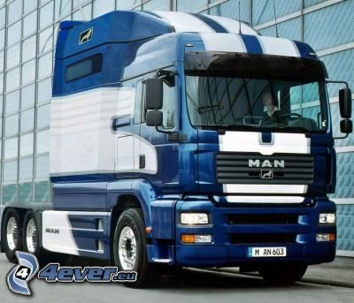 camion, trattore stradale
