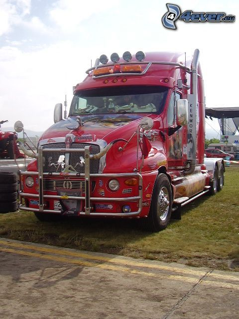 Kenworth T2000, tuning, camion, trattore stradale