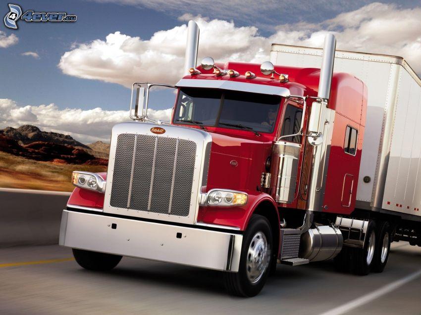 Peterbilt 389, camion americano