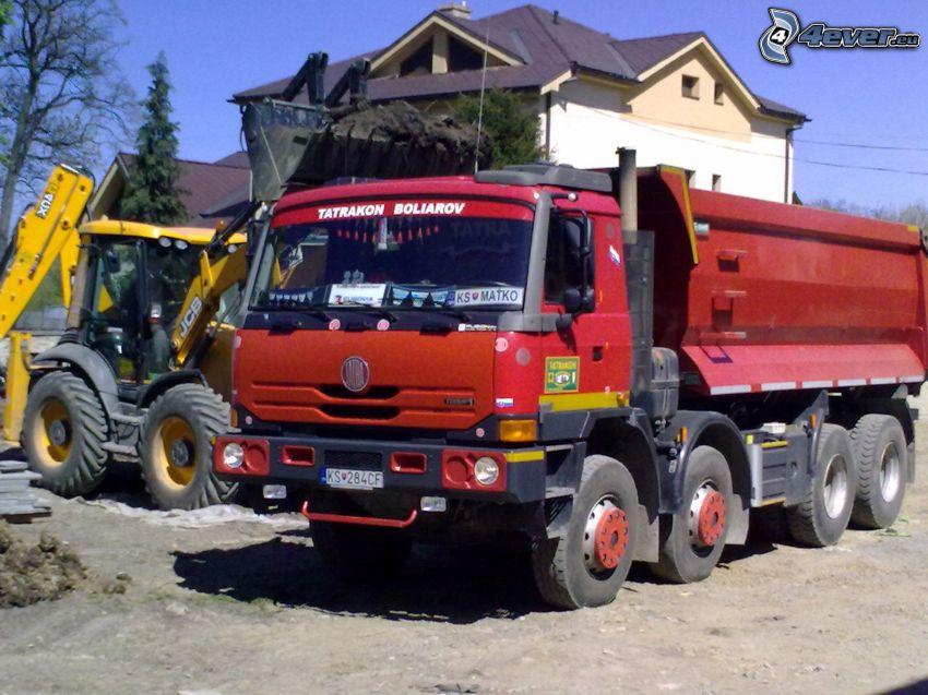 Tatra, escavatore