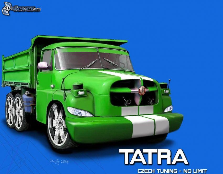 Tatra, virtual tuning