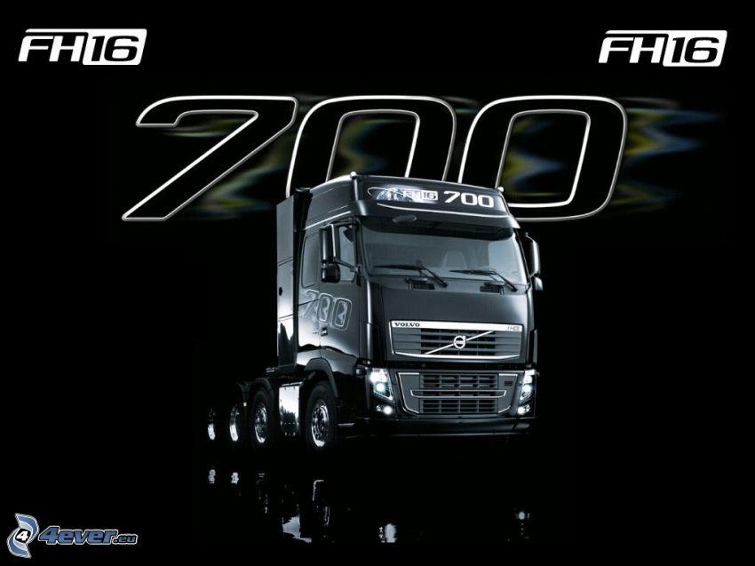 Volvo FH16, Volvo 700, camion