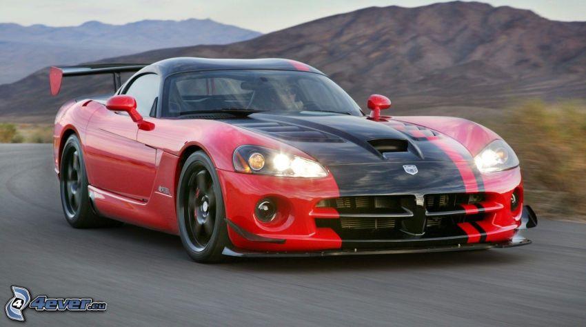 Dodge Viper Srt 10, velocità