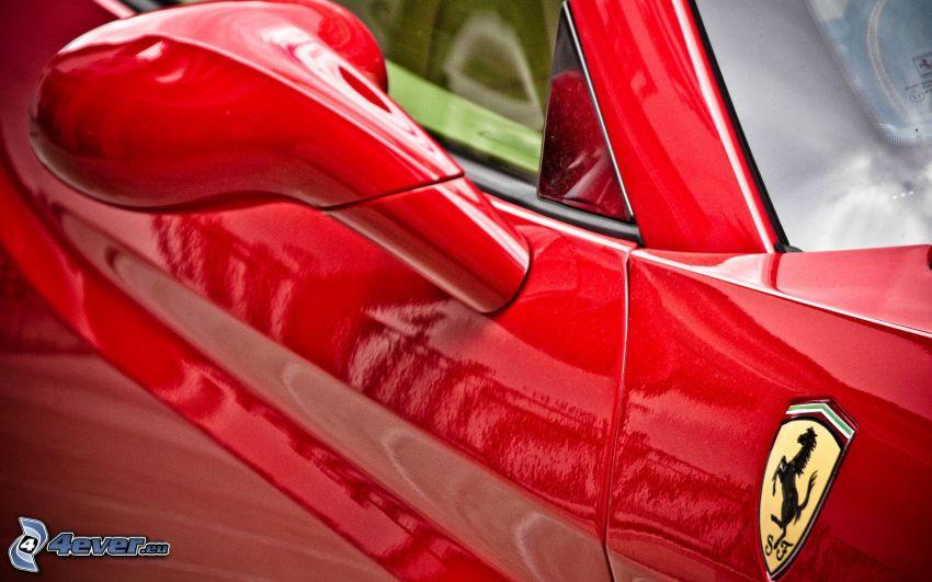 Ferrari, specchio retrovisore