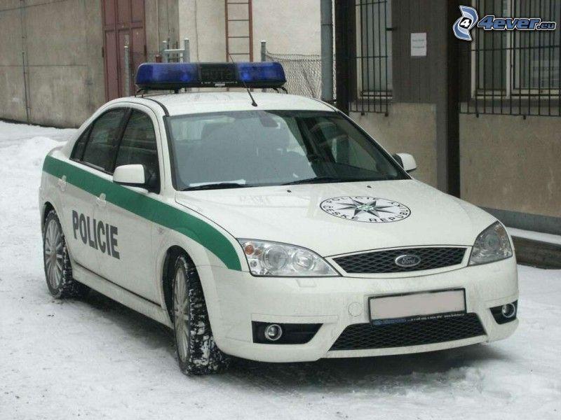 Ford, auto della polizia, polizia