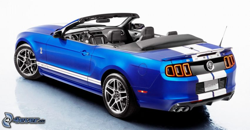 Ford Mustang Shelby GT500, cabriolet