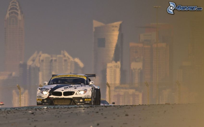 BMW Z4 GTR, Dubai