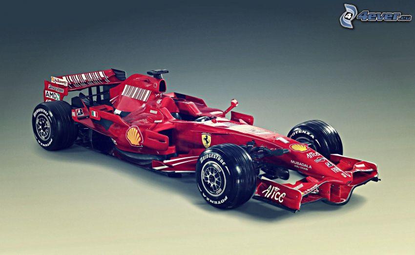 Ferrari F2008, formula